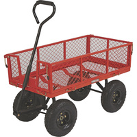 Ironton Steel Garden Wagon — 400-Lb. Capacity, 34in.L x 18in.W