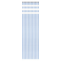 Venture Products Driveway Markers — 12-Pack, Blue, Model# 500-12