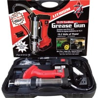 Zee Line Cordless Grease Gun Kit — 19.2 Volt, 8500 PSI, 1 Battery, Model# 912-19L