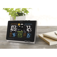 La Crosse Technology Wireless Atomic Color Forecast Station — Digital Display, Model# 308-1414B