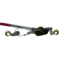 Ironton Single Gear Come-Along Hand Cable Puller — 2-Ton Capacity