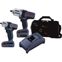 FREE SHIPPING — Ingersoll Rand IQV20 Cordless 1/2in. Impactool & 3/8in. Impactool Combo Kit — With 2 Batteries, Model# IQV20-2012