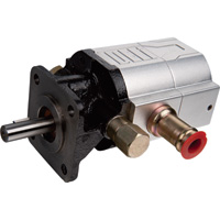 NorTrac Cast Iron Two-Stage Pump — 9 GPM, 1/2in. Dia. Shaft, Model# CBNA-6.3/3.0A