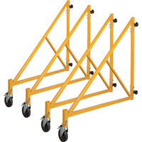 Metaltech 46in. Outrigger for Tall Tower Multi-Purpose 6-Ft. Baker-Style Scaffold — Set of 4, Model# I-CISO4TT
