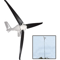 Coleman Wind Turbine with Tower Kit — 400 Watts, 12 Volts, Model# 48640