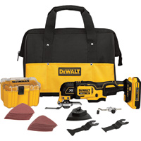 FREE SHIPPING — DEWALT MAX Oscillating Tool Kit — 20 Volt, Model# DCS355D1