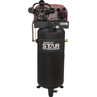 FREE SHIPPING — NorthStar Electric Air Compressor — 5 HP, 60-Gallon Vertical Tank