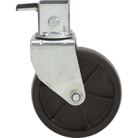 FREE SHIPPING — Ultra Tow XTP Fast Action Trailer Jack 6in. Caster —Fits Item#s 47252, 47253, 47255, 47256