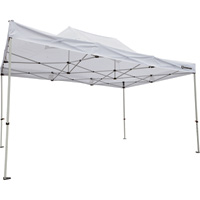 Strongway Commercial-Grade Canopy — 10ft. x 15ft., Straight Leg, White