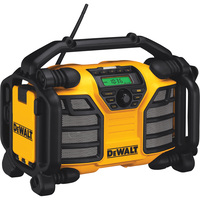 FREE SHIPPING — DEWALT 12 Volt/20 Volt MAX Worksite Charger/Radio, Model# DCR015