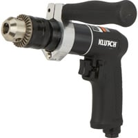 Klutch Air Drill — 1/2in. Chuck, 800 RPM, Reversible, Keyed Chuck