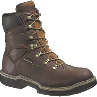 Wolverine Men's Buccaneer Waterproof 8in. Work Boots — Brown, Model# W04825