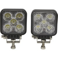 Ironton Mini LED Work Lights — 2-Pk., 1,050 Lumens, 5 LEDs