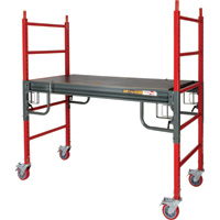 Metaltech BuildMan 6ft. Drywall Baker Scaffolding — 1500-Lb. Capacity, Model# I-BMSS