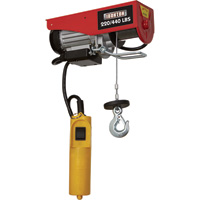 Ironton Double Line Electric Hoist — 220-lb. Single Line/440-lb. Double Line Lift Capacity