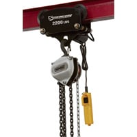 Strongway Electric Trolley — 2,200-Lb. Capacity