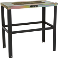 Klutch Metal Top Welding Table — 38in.L x 20in.W x 36in.H