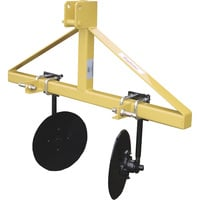 King Kutter Disc Bedder — Cat. 1 3-Pt. Hitch Compatible, 48in. Max. Working Width, Model# DB-YK