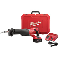 FREE SHIPPING — Milwaukee M18 Sawzall Reciprocating Saw — One Battery, Charger, Model# 2621-21
