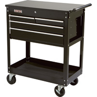 Ironton 4-Drawer Tool Cart — 500-Lb. Capacity