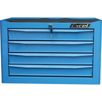 Excel 4-Drawer Metal Tool Chest — 26in.W, 340-Lb. Capacity, Model# TB2204-X