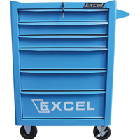 Excel 6-Drawer Rolling Metal Tool Chest — 26in.W, 600-Lb. Capacity, Model# TB2907-X