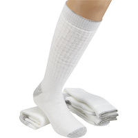 FREE SHIPPING — Gravel Gear Ultra-Dri Steel Toe Heavyweight Boot Socks — 3-Pair