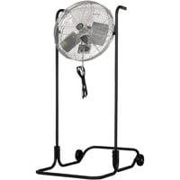 TPI Industrial High-Stand Workstation Floor Fan — 18in., 1/8 HP, 4600 CFM, Model# F-18H-TE