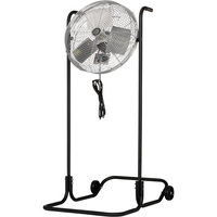 TPI Industrial High-Stand Workstation Floor Fan — 24in., 1/8 HP, 5850 CFM, Model# F-24H-TE
