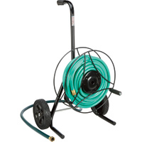 Ironton Garden Hose Reel Cart — Holds 100ft.L x 5/8in. Dia. Hose