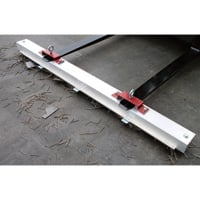 AMK Magnetics 60in. Double Strength Roadmag Magnetic Sweeper — with Release, Model# RDS-60LR