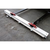 AMK Magnetics 84in. Double Strength Roadmag Magnetic Sweeper — with Release, Model# RDS-84LR