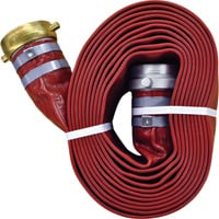 JGB Enterprises Water Pump Discharge Hose — 3in. I.D. x 25ft., M x F NPSM Threads, Model# A008-0481-1625