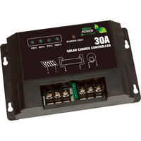 Strongway Digital Solar Charge Controller — 450 Watt/30 Amp Capacity
