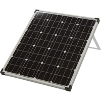 Strongway Monocrystalline Solar Panel Kit — 80 Watts