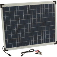 Ironton Polycrystalline Solar Panel — 50 Watts
