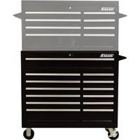 Excel 13-Drawer Rolling Tool Cabinet — 880-Lb. Capacity, Model# TBR4013X-Black