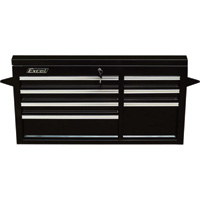 Excel 7-Drawer Top Tool Chest — 600-Lb. Capacity, Model# TB4015A-BLACK