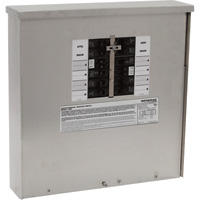 FREE SHIPPING — Generac Generator Manual Transfer Switch — 30 Amps, 125/250 Volts, Single Phase, 10 Circuits, Model# 6379