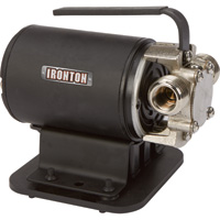 Ironton Transfer Pump with Suction Attachment — 298 GPH, 115 Volts, 3/4in. Ports
