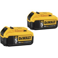 FREE SHIPPING — DEWALT 20 Volt Max XR 5.0Ah Battery — 2-Pack, Model# DCB205-2