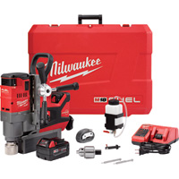 FREE SHIPPING — Milwaukee M18 FUEL 1 1/2in. Magnetic Drill Kit, Model# 2787-22