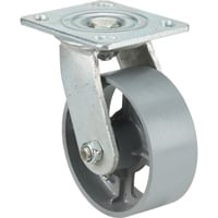 Ironton 5in. Swivel Steel Caster — 800-Lb. Capacity