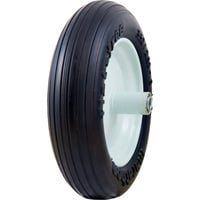 Marathon Tires Flat-Free Wheelbarrow Tire — 3/4in. Bore, 3.50/2.50–8in.