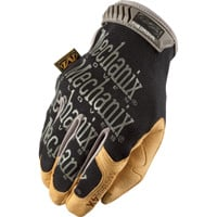 Mechanix Men's Wear Original Material 4X Gloves — Black & Tan, Model MG4X-75