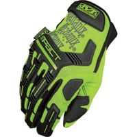 Mechanix Men's Wear Safety M-Pact Gloves — High Visibility Yellow