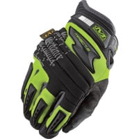 Mechanix Wear Safety M-Pact 2 Gloves — High-Visibility Yellow, Model# SP2-91