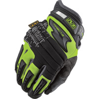 Mechanix Men's Wear Safety M-Pact 2 Gloves — High-Visibility Yellow, Model# SP2-91