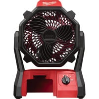 FREE SHIPPING — Milwaukee M18 Jobsite Fan — Tool Only, Model# 0886-20