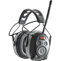 FREE SHIPPING — 3M WorkTunes AM/FM Radio/MP3 and Hearing Protector with Bluetooth — 25dB, Model# 90542-3DC